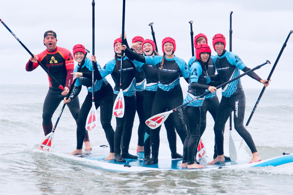SUP Lessons in Portrush with The Surf Project